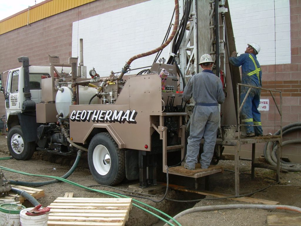 Geothermal for previous Energy Smart building (now Mcnamara Floors) - Vertical loop